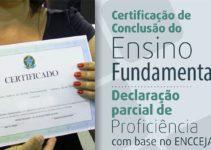 Certificado Encceja 2021
