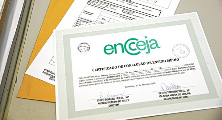 Certificação Encceja Ensino Médio 2020